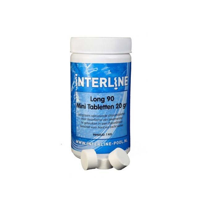 Interline Chloortabletten – Long90 – 20gram_1kg
