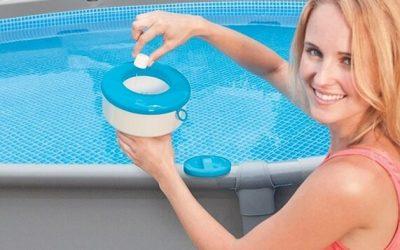 Hoeveel chloor in zwembad?