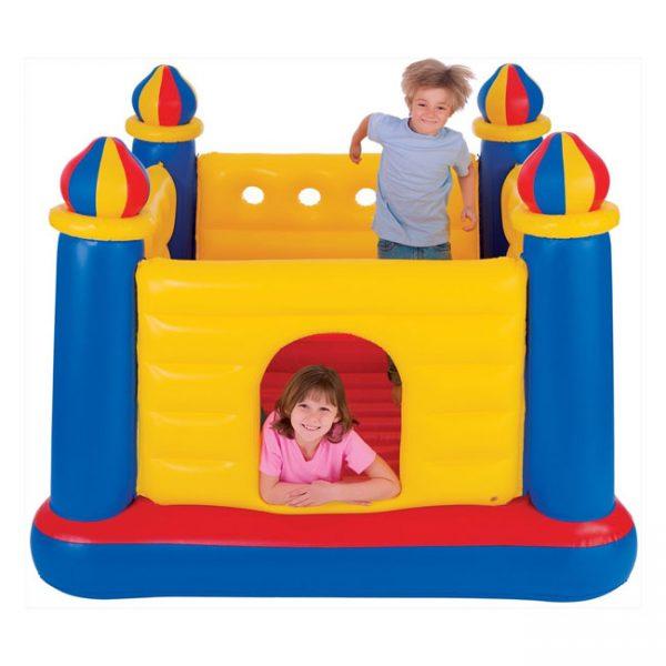 Intex-trampoline-kasteel