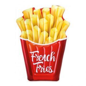 Opblaasbaar-luchtbed---franse-frietjes