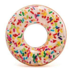 Opblaasbare-zwemband-sprinkles-donut