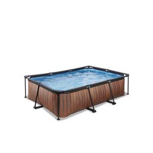 EXIT zwembad 220x150x60cm – Wood