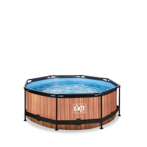 EXIT zwembad ø244x76cm – Wood