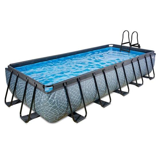 exit-stone-zwembad-540x250x100cm-met-filterpomp-grijs