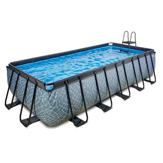 exit-stone-zwembad-540x250x122cm-met-filterpomp-grijs