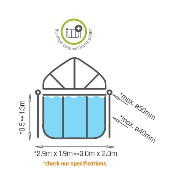 exit-zwembad-schaduwdoek-300x200cm